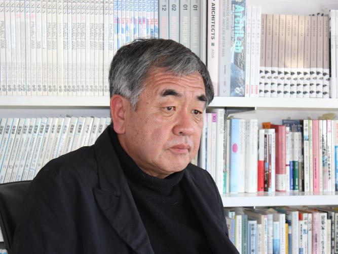 建築家 隈研吾氏