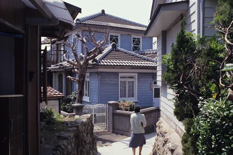 美浜町(アメリカ村)の洋風住宅。(提供:和歌山県)